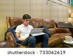 saint petersburg  russia  ... | Shutterstock . vector #733062619