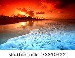 Landscape Ocean Sunrise