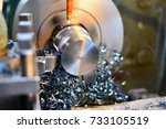 professional machinist.... | Shutterstock . vector #733105519