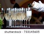 The Waiter In A White Glove...