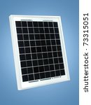 a solar panel isolated against... | Shutterstock . vector #73315051