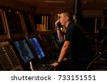 navigation officer   pilot on... | Shutterstock . vector #733151551