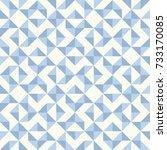 regular geometric pattern... | Shutterstock .eps vector #733170085