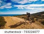 A Young Guy Riding A Mountain...