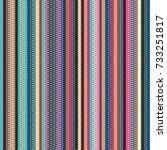 seamless wavy stripes pattern... | Shutterstock . vector #733251817
