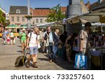 dordrecht  netherlands   july 7 ... | Shutterstock . vector #733257601