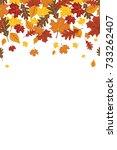 Bright Falling Fall Autumn...