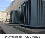 commercial hvac   Shutterstock . vector #733270021