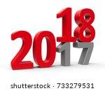 2017 2018 change represents the ... | Shutterstock . vector #733279531