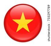 vietnam flag vector round icon  ...