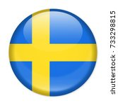sweden flag vector round icon   ... | Shutterstock .eps vector #733298815
