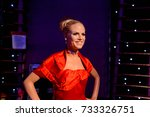 vienna  austria   oct 4  2017 ... | Shutterstock . vector #733326751