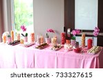 Fancy Dessert Table At A...