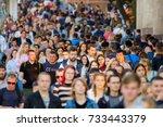 moscow  russia   september 9 ...   Shutterstock . vector #733443379