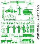 smart agriculture. the internet.   Shutterstock .eps vector #733445479