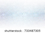 light pink  blue vector pattern ... | Shutterstock .eps vector #733487305