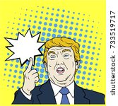 donald trump  the 45th...   Shutterstock .eps vector #733519717