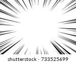background of radial lines for... | Shutterstock .eps vector #733525699