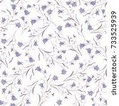 seamless watercolor pattern of...   Shutterstock . vector #733525939