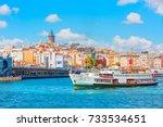 istanbul  turkey   september 13 ... | Shutterstock . vector #733534651