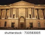 paris  france   may 24  2015 ... | Shutterstock . vector #733583005