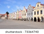 Square Of City Telc  Unesco