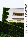 Small photo of The Villa Müller is a building designed by Adolf Loos in 1930. The villa is located in Prague, Czech Republic. June 20th 2017. Editorial photo