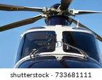 exterior front view of... | Shutterstock . vector #733681111