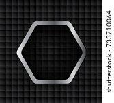 vector of abstract metallic... | Shutterstock .eps vector #733710064