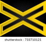 vector of abstract metallic...   Shutterstock .eps vector #733710121