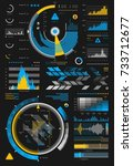 infographic set | Shutterstock .eps vector #733712677