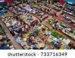 pasar besar siti khadijah  kota ... | Shutterstock . vector #733716349