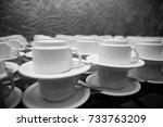tea  coffee  | Shutterstock . vector #733763209