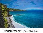 Waves Crashing A Maui Beach...