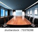 business meeting room in office ... | Shutterstock . vector #73378288