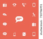 set of 13 editable device icons....