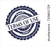 blue terms of use distressed...