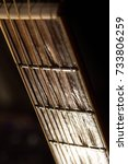 Small photo of Guitar fret board