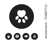 set of 5 editable amour icons....