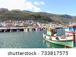 kalk bay from the harbour | Shutterstock . vector #733817575