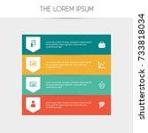 set of 8 editable logical icons....