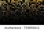 vector abstract dark background ... | Shutterstock .eps vector #733850611