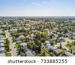 residential area of grande... | Shutterstock . vector #733885255