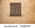 old and and weathered closed... | Shutterstock . vector #73388599