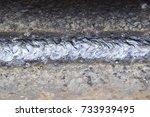 welding parts racks rods by... | Shutterstock . vector #733939495