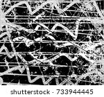 print distress background in... | Shutterstock .eps vector #733944445