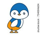 cute animals design  | Shutterstock .eps vector #734004604