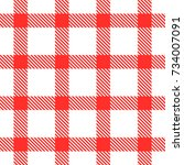 pattern table cloth    Shutterstock .eps vector #734007091