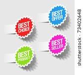 best choice  best offer  best...   Shutterstock .eps vector #73402648