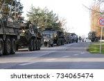 Us Army Convoy  27.3.2017 ...